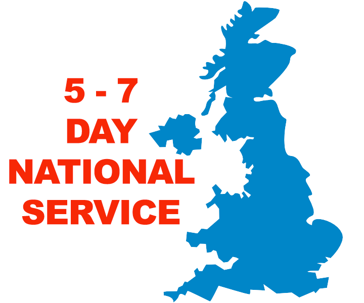 5-7 Day National Service